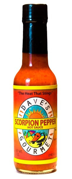 Dave's Scorpion Pepper Hot Sauce 5 Oz. by Dave's Gourmet