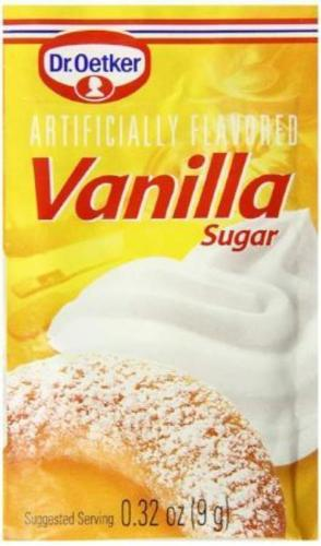 Dr. Oetker Vanilla Sugar .32 Oz. (Pack of 6)