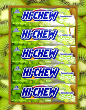 Hi-Chew Stick Kiwi with Chia Seeds Chewy Fruit Candy by Morinaga (Pack of 5)