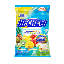 Hi-Chew Tropical Mix Fruits Chewy Candy Bag by Morinaga 3.53 Oz.