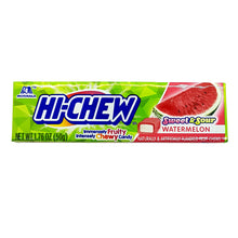 Hi-Chew Stick Sweet & Sour Watermelon Soft & Chewy Candies by Morinaga (Pack of 15)