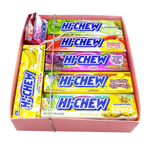 Hi-Chew Stick TROPICAL Collection Chewy Fruit Candy by Morinaga 7 Assorted Flavors Gift Boxed (15-piece Set)