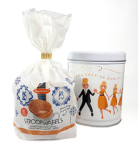 "Daelmans Caramel Stroopwafels ""Long Live the King"" Limited Edition Gift Tin 290 g."