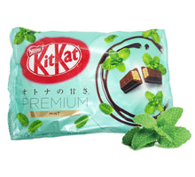 Japanese Kit Kat Premium MINT Limited Edition 12 Mini Bars 4.8 Oz.