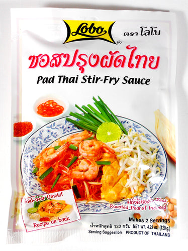 Lobo Pad Thai Noodles Seasoning Mix 4.23 Oz. (120 g) Pack of 2