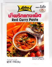 Lobo Thai Red Curry Pastes 1.76 Oz. (50 g) Pack of 2