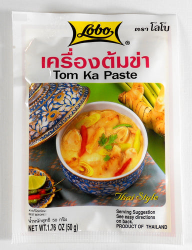 Lobo Thai Tom Kha Seasoning Paste 1.06 Oz. (30 g) Pack of 2