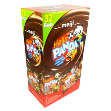 Meiji Hello Panda Chocolate Creme Filled Cookies 0.72 Oz Bags 32-Count 24 Oz.