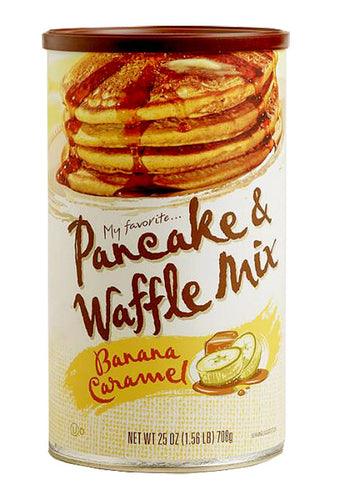My Favorite Banana Caramel Pancake Mix 25 Oz.