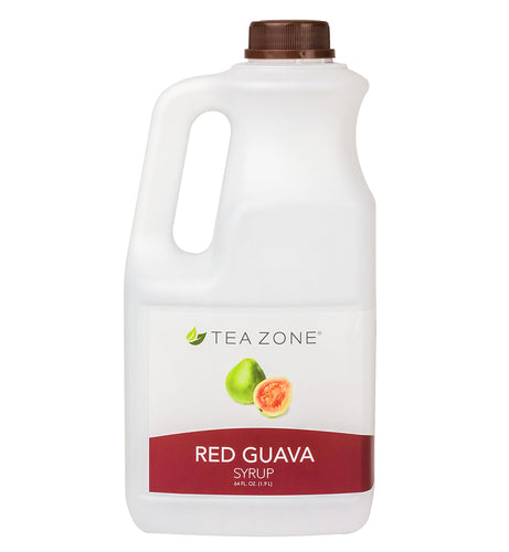 Tea Zone Red Guava Fruit Syrup 64 Oz.
