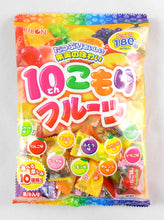 Ribon Ten Komori Fruits Japanese Hard Candy 10 Assorted Flavors 6.34 Oz.