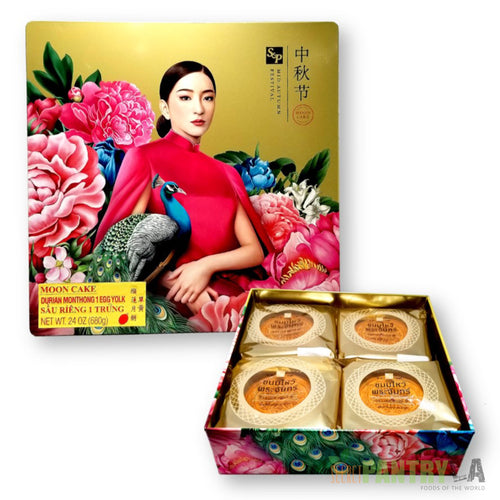 S&P Durian Mhonthong Mooncake 1 Yolk 680 g. (24 Oz.)