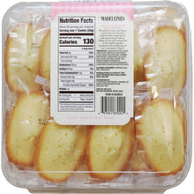 Sugar Bowl Madeleines French Petite Tea Cake Cookie Individually Wrapped 28 Oz. (Pack of 2)