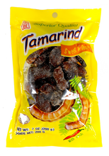 Thai Sweet & Sour Tamarind with Chili Snack Whole Pod A little Spicy 7 Oz.
