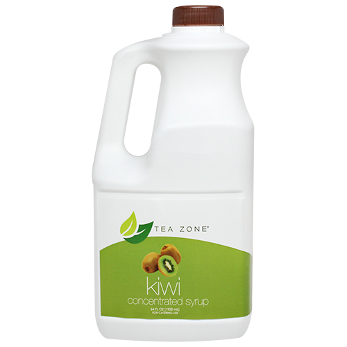 Tea Zone Kiwi Fruit Syrup 64 Oz.