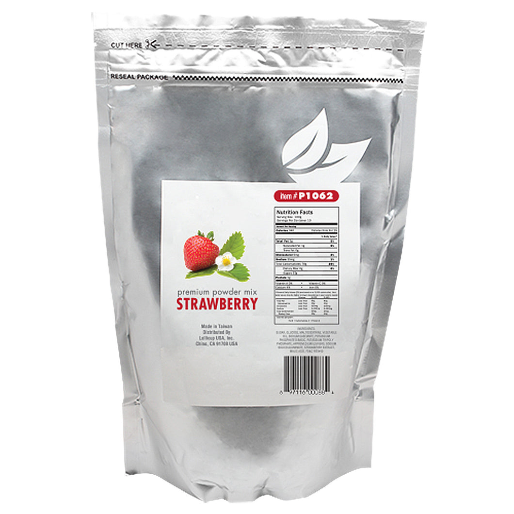 Tea Zone Strawberry Powder Mix 2.2 lbs. X 10 Factory Case