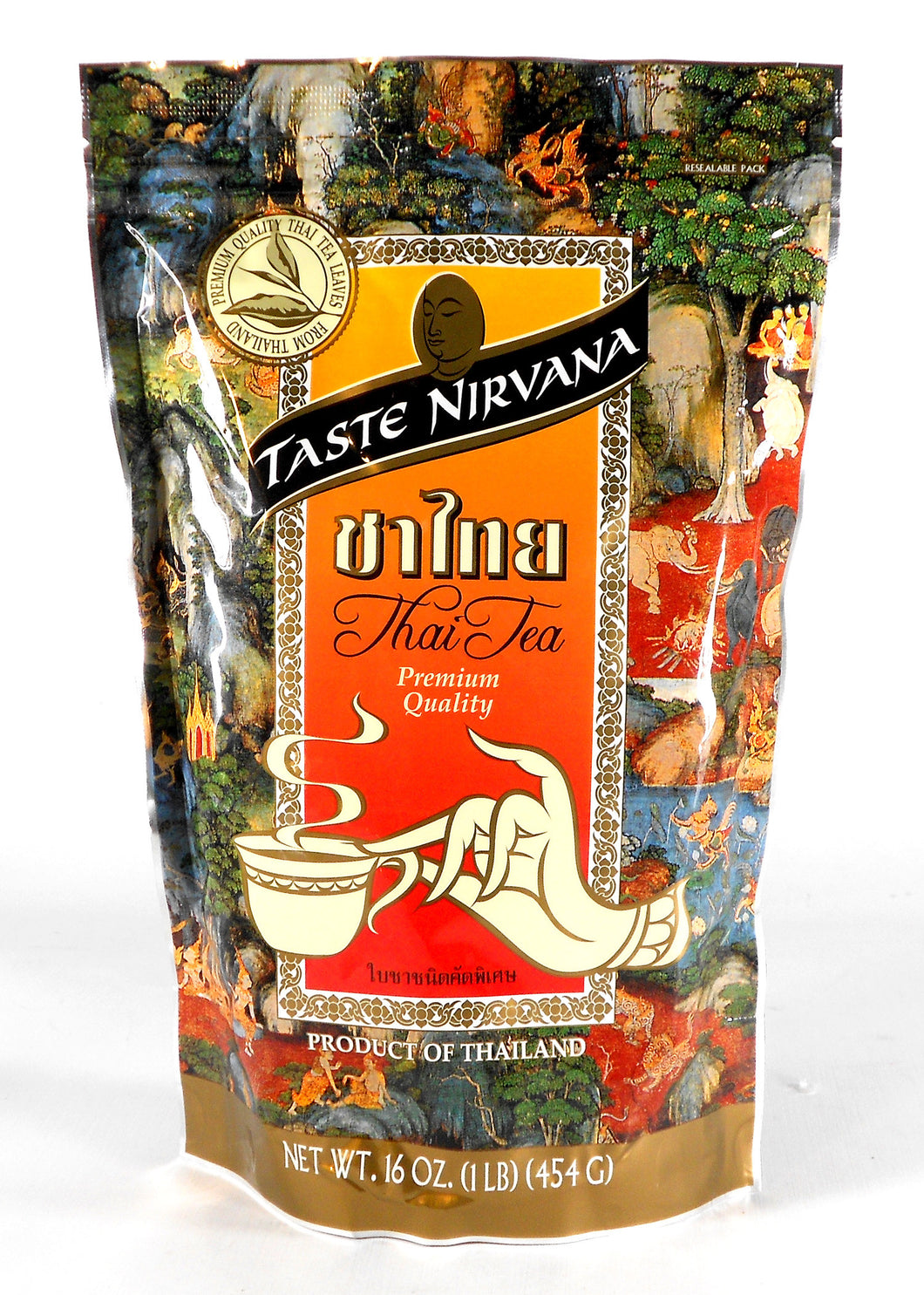 Taste Nirvana Premium Thai Tea Leaves Mix 16 Oz.