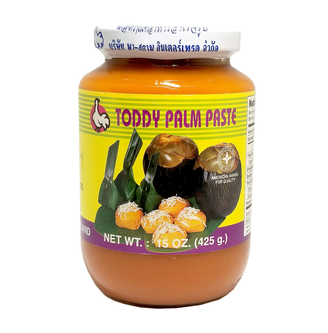 Toddy Palm Paste Pa-Siam Brand 15 Oz.