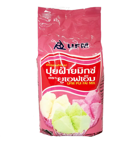 Khanom Pui Fai Mix (Thai Steamed Cupcake) by UFM 1 Kg. (2.2 lbs)