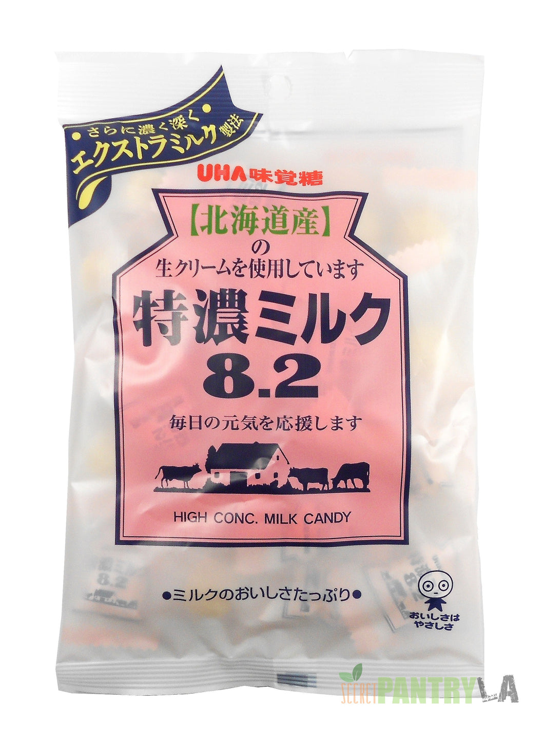 UHA 8.2 High Concentrated Tokuno Milk Candy 3.52 OZ.