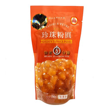 WuFuYuan Golden Boba Tapioca Pearls Ready in 5 Mins 8.8 Oz