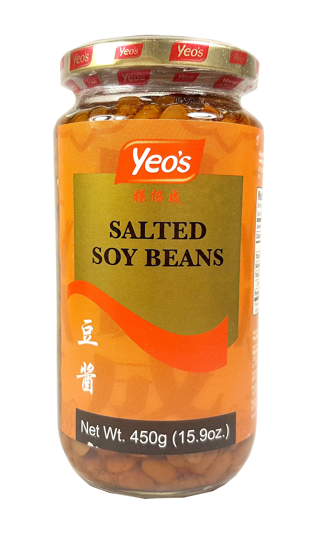 Yeo's Salted  Soy Beans Fermented Sauce 15,9 Oz. X 24 Factory Case