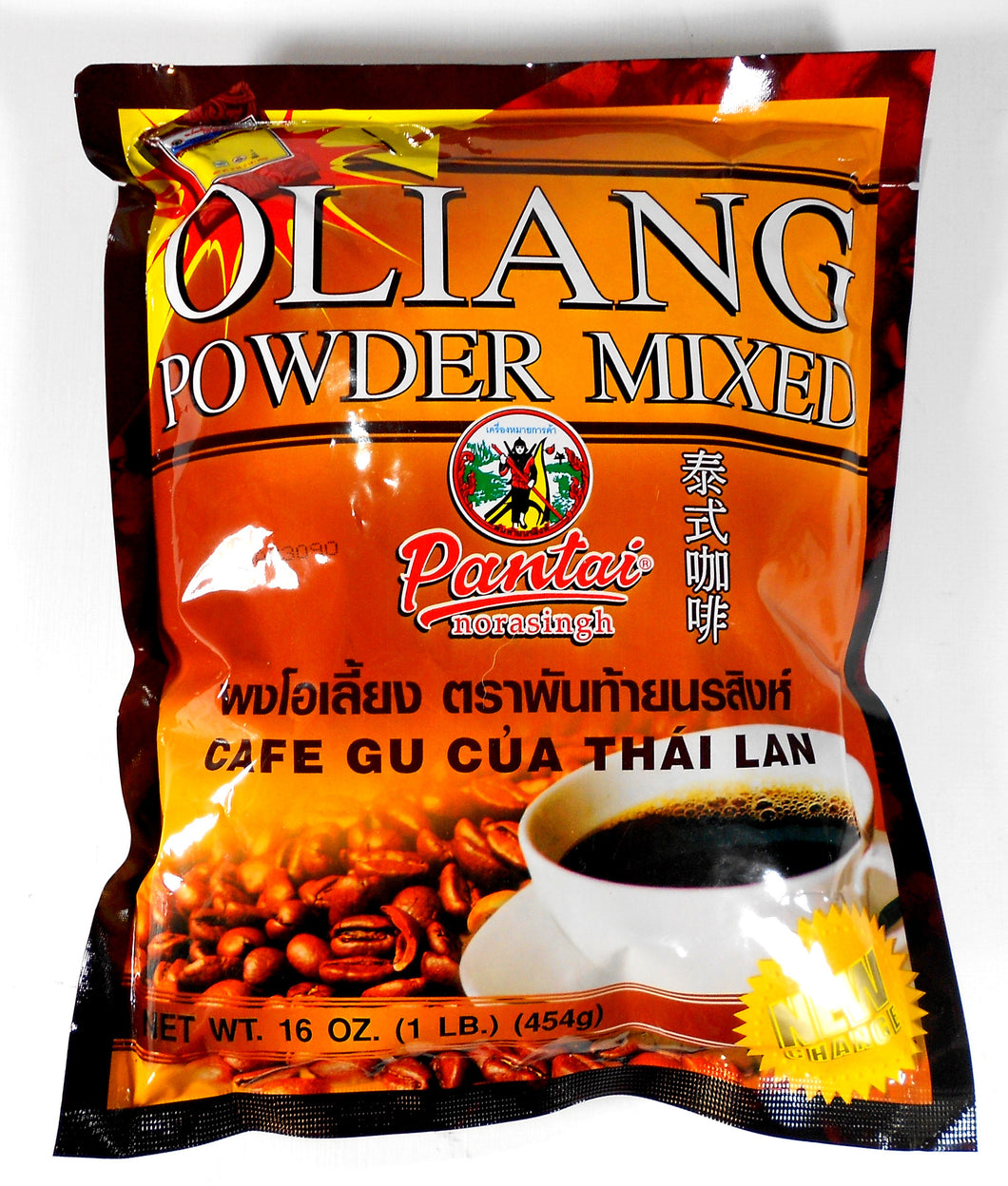 Pantai Thai Coffee Oliang Powder Mix (Pantai Norasing) 16 Oz.