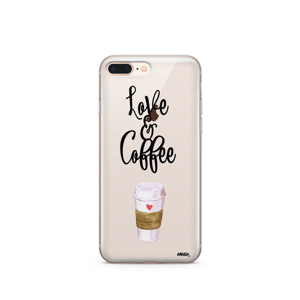 Love and Coffee brown case