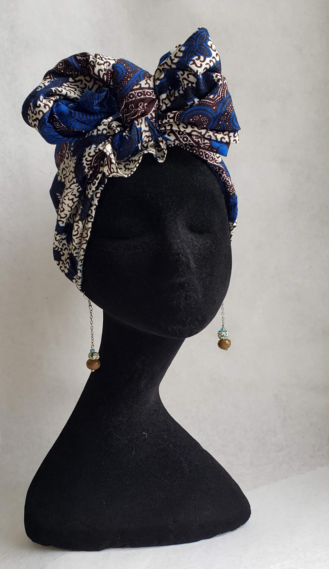 Pretied Headwrap/Scarf -Ready-toe wear-headwrap