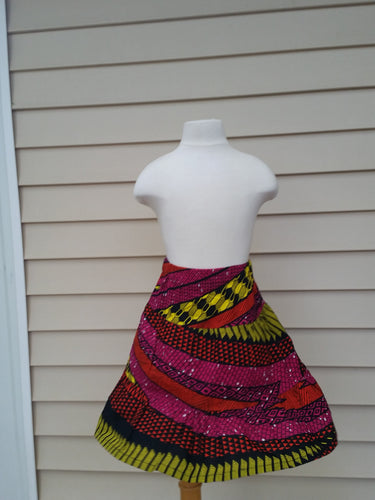 Swirl Skirt Girl