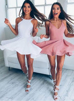 Cute A-line short prom dress, homecoming dresses