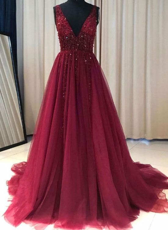 prom dress tulle