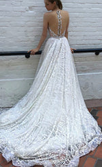 Sparkling tulle sequins prom gown formal dress