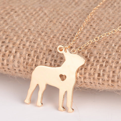 Boston Terrier Dog Necklace - SoCoDeals