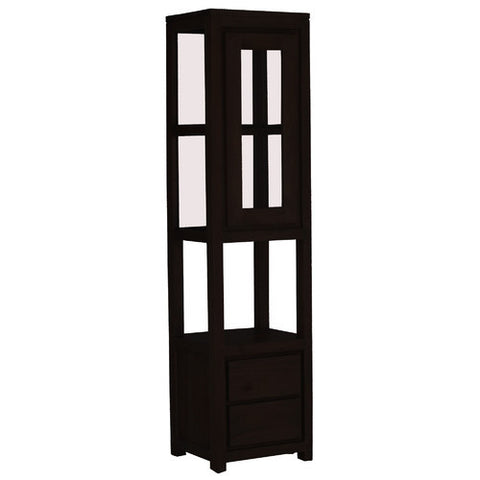 Andrea 1 Door 2 Drawer Display Cabinet RMK238DC 102 TA
