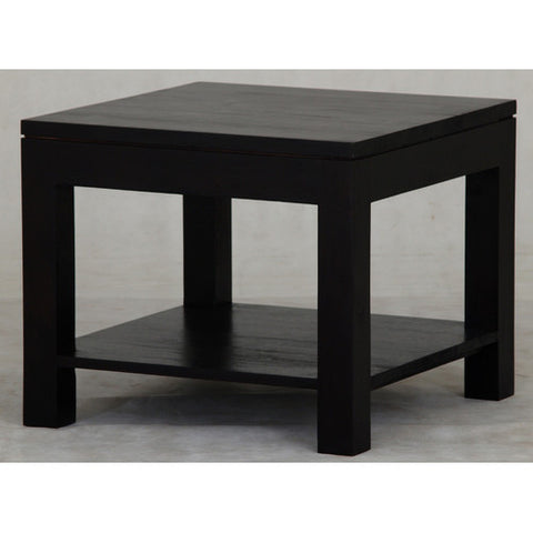 Andrea Side Table with Bottom Shelf RMY238LT 60 60 TA