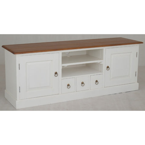Biarritz-French+TV-Console-2+Door+3+CD+Drawer+Entertainment+Unit RMY238