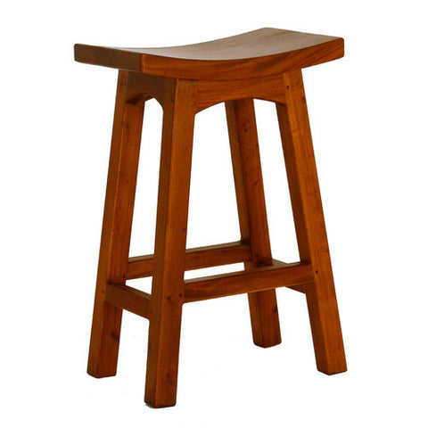 Emily Wooden Barstool Bar Chair RMY238BR 067 WD LP
