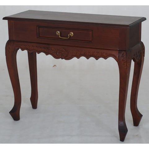 Mary Jepara 1 Drawer Carved Console Table RMY238