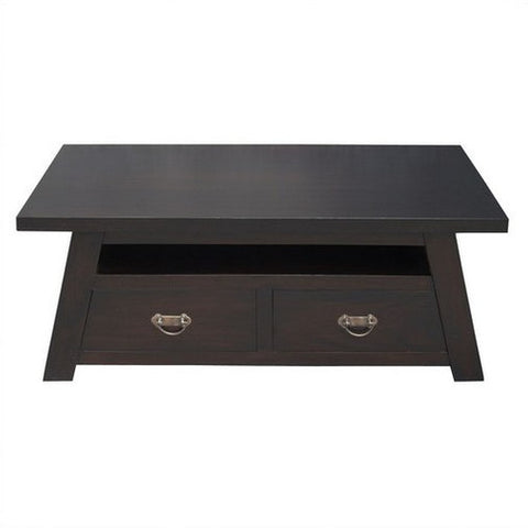 Toyko Japanese 4 Drawer Coffee Table RMY238CT 004 JS