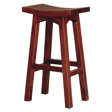 Isabella Wooden  Bar Stool Bar Chair RMY238BR 001 WD