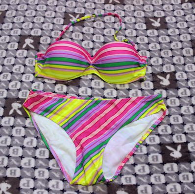 Women Bikini 2016 Sexy Padded Top Swimsuit Bikinis Sets Push Up Swimwear Women Biquini beachwear bathing suit