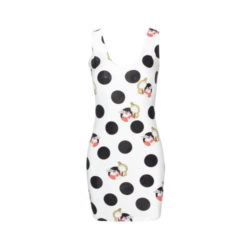 EAST KNITTING 2017 New Summer Women Dress Celeb Bodycon Dress Splash Floral Print Sleeveless Midi Dresses Ladies Casual Vestidos
