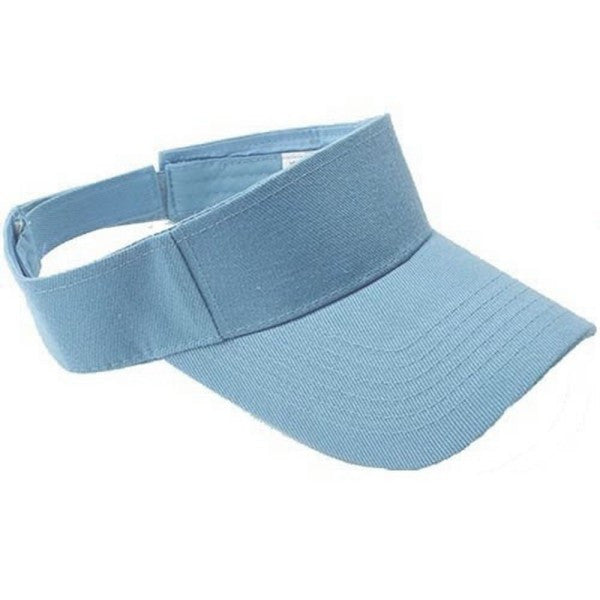 Plain Visor Sun Hat Sport Cap Adjustable Tennis Beach Hats for Women Men 7 Colors