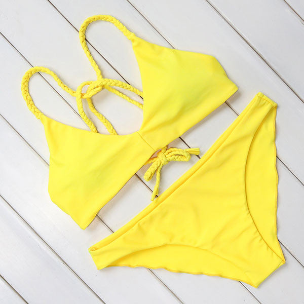 Hot Sexy Brazilian Bikini 2017 Swimwear Women Swimsuit Bathing Suit Biquini Bikini Set Bandage Swim Suit Maillot De Bain Femme