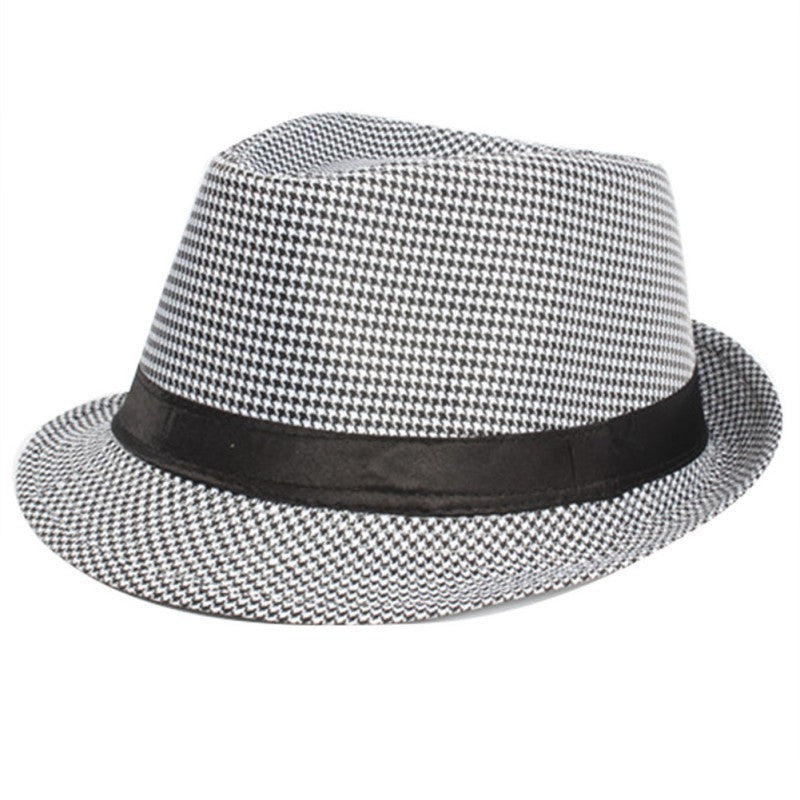 Newest Men Women Unisex Summer Beach Top Hat Sun Jazz Gangster Casual Cap Hat Hot Selling