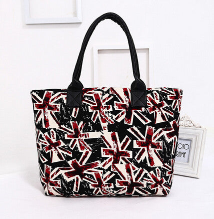 Free shipping / 2015 new / printing the Union Jack / fashion leisure / women bag / canvas bag