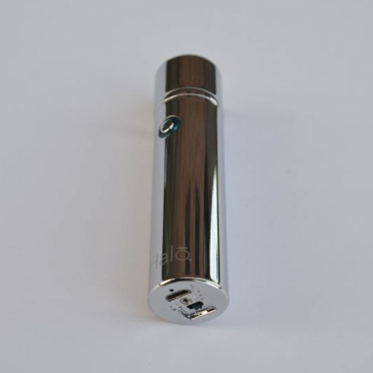 silver electric pipe lighter