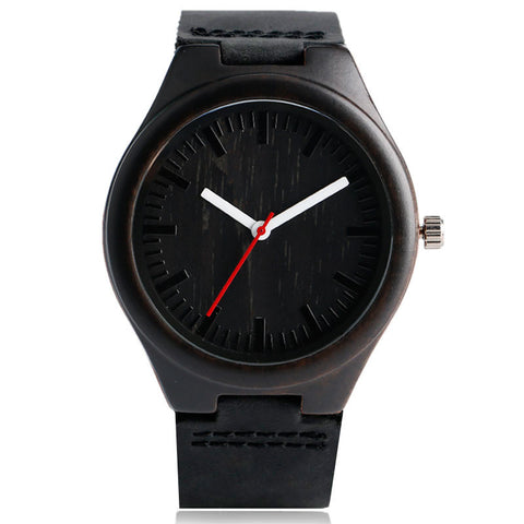 Simple Minimalist Wood Quartz Watch - mytreestore