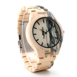 New! Handmade Variegated Wood Watch